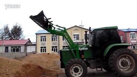 拖拉机改装铲车视频图片