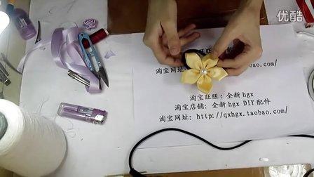 丝带简单结系法图解 步骤