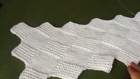 手工编织围巾帽子坐垫钩包视频教程