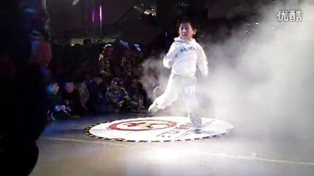 聊城街舞聊城市第二屆少兒街舞斗舞大賽李秀旗VS劉十六