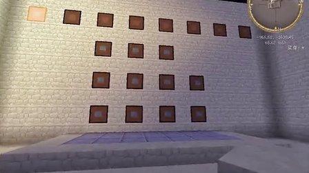 我的世界Minecraft八位数密码门,可改密码,高射炮炮