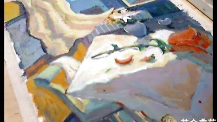 北京-艺众美术-试听课程:中央美院2012年色彩高分试卷范画与解析