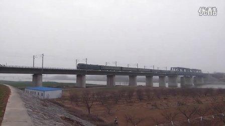 【拍客】l258次通过汉丹线襄阳唐河铁桥