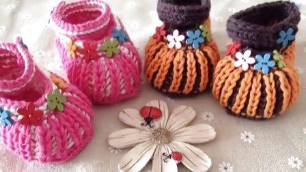 小辛娜娜原创,宝宝帽子,宝宝鞋,编织视频,钩鞋子,零基础编织,