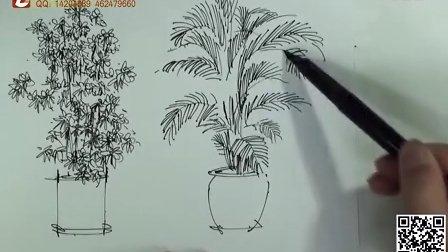 手绘单体 室内手绘 手绘培训