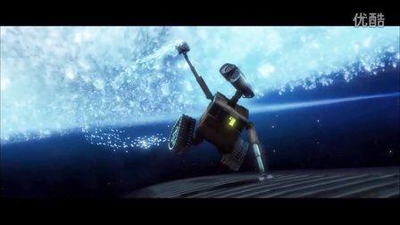 感人电影:机器人总动员 机器人瓦力 my love