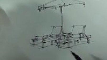 景观手绘单体 小品 手绘教程