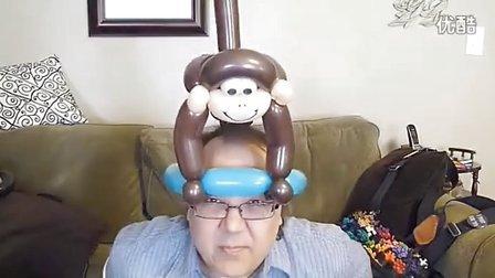 小也魔术气球教程-猴子(帽子)_360p