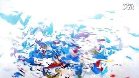 【醉清风制作】会声会影x6模板 绚丽多彩的蝴蝶飞舞片头