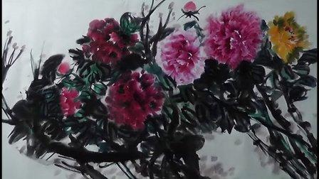 国画牡丹画法视频 怎样画牡丹