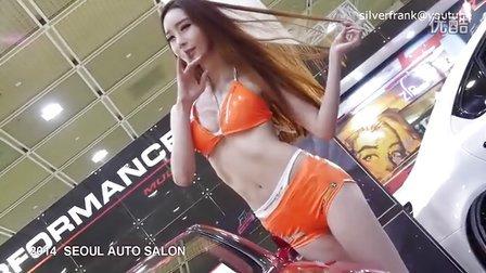 汽车沙龙展 PERFORMANCE GARAGE 韩国车模比基尼美女