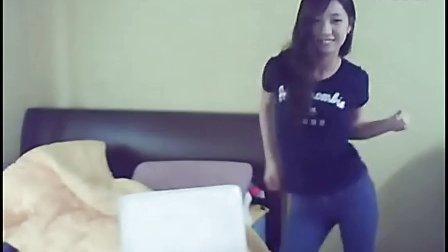 韩国美女主播DJ热舞   性感波浪舞