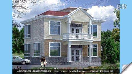 二层别墅效果图 简单房屋建造设计图纸