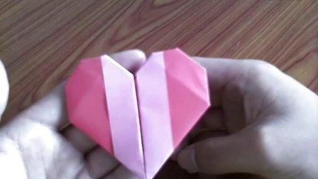 纸做心形盒子步骤和图片