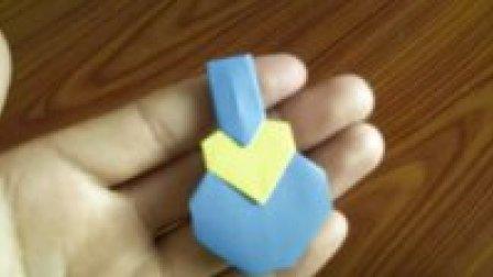 心形折纸大全第23款 爱心葫芦 爱的俘虏