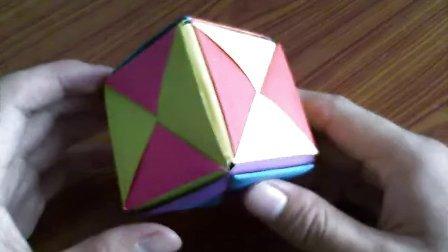 幼儿儿童折纸大全视频教程 立方体盒子 攀枝叶折纸艺术
