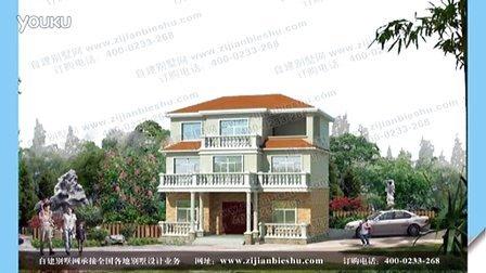 农村简约三层别墅设计图及效果图 农村别墅现代户型