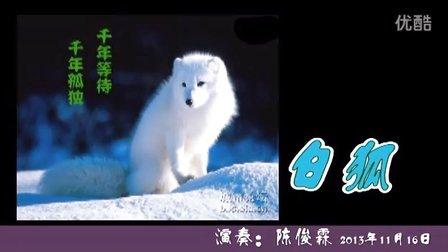 白狐12孔陶笛曲谱