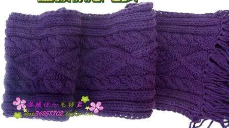 温暖你心毛线店 手工编织围巾免费视频 怎样织围脖宝宝帽子婴儿鞋等零