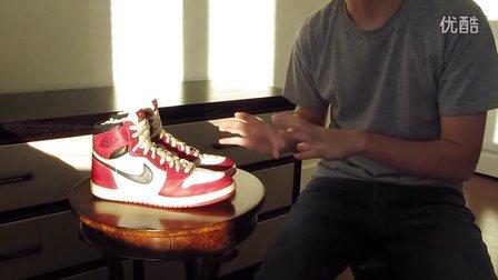 陽仔球鞋視頻32,Nike Air Jordan 1 OG Chicago 1985
