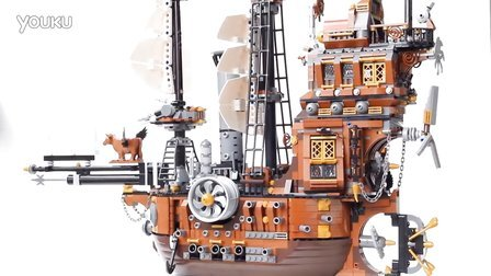 Lego/乐高 Movie/大电影 70810 MetalBeard's Sea Cow