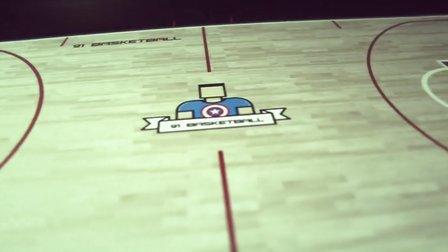 91篮球教学 34 全场比赛如何进攻半场阵地人盯人 及 无球跑位 (上)