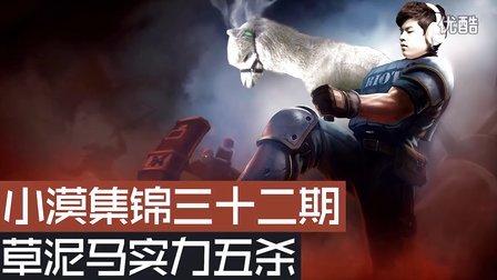 小漠解说集锦:暴力草泥马实力五杀!的照片