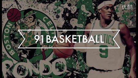 91篮球教学 39 隆多绝招 隆多技能包之背后假传球上篮
