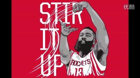 91篮球教学 47 NBA 詹姆斯哈登 勒布朗 詹姆斯 吉诺比利 偷步突破上篮