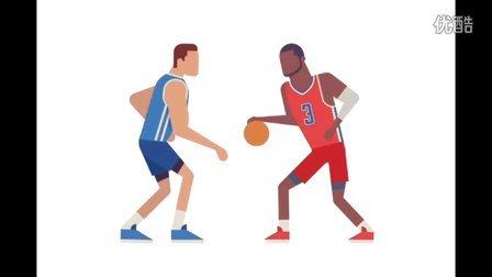 91篮球教学 48 NBA篮球场上的三大类运球特性解析