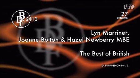 2012黑池讲习会2-1 琳,乔安,黑泽尔 英国选手