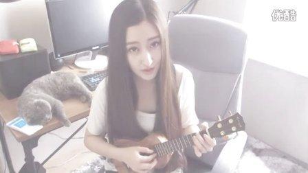 安静 ukulele曲谱
