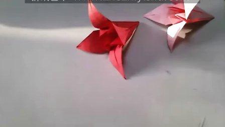 折纸 百合花 视频教程 折纸艺术 www.zhezhiyishu.com