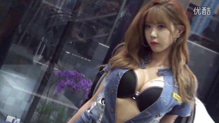 韩国BJ美女主播许允美车模写真高清视频 许允美
