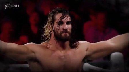 WWE塞斯罗林斯配上CM朋克出场音乐
