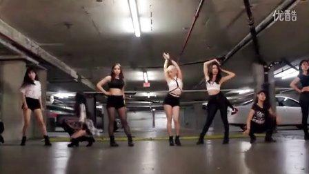 少女时代-You Think 舞蹈练习室视频(天舞)温哥华