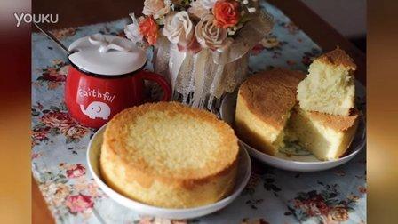 【桃子喵娘娘】第2集 基础戚风蛋糕(2个6寸或1个8寸)