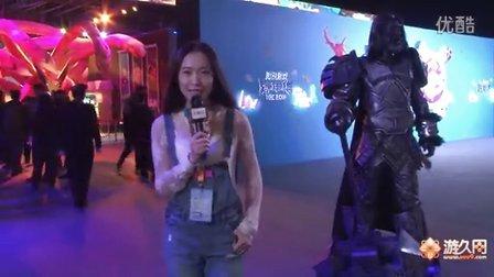 美女主持带你游腾讯TGC——首日MMORPG展区