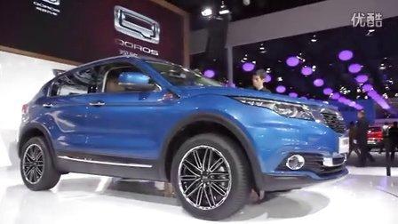 2015广州车展 观致5SUV叫板合资紧凑SUV