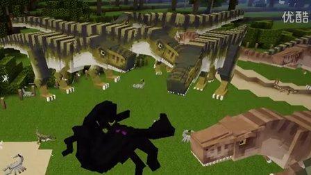 我的世界帝王蝎对战突变怪物军团