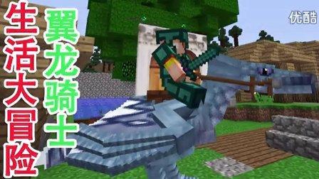 对《【天骐】我的世界生活大冒险第二季40〓我是冰霜翼龙骑士〓MC图片
