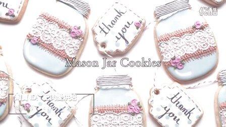 【微博@肥肉ai烘焙】手套糖霜饼干 甜品桌