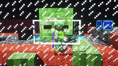 对《【小本VS天骐】我的世界幸运方块PK赛EP11〓巨坑大金刚〓MC图片