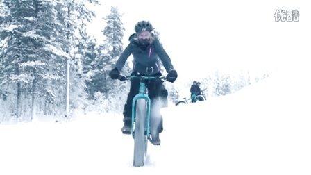 极夜·极魔幻·极致体验100天:第5程 - 雪地自行车赛