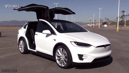 内外详拍试驾特斯拉Tesla Model X P90D w- Ludicrous Mode
