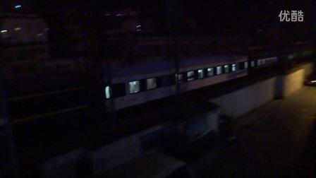 [拍火车][国际列车]HXD3D+25T南宁-北京[Z6]广铁株段