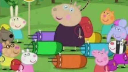 小猪佩琪和乔治简笔画