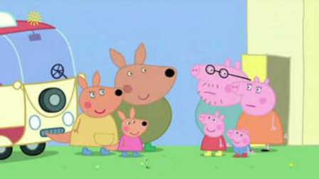 奇丨粉红小猪过圣诞节有礼物丨简笔画小猪佩奇丨儿童简笔画小猪佩