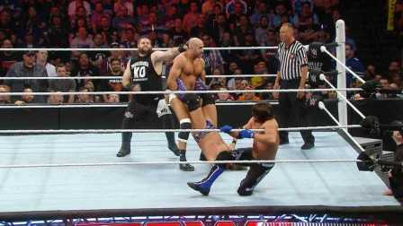 【Raw 4/4】瑞士超人强势回归 四国楚歌谁战伦斯?