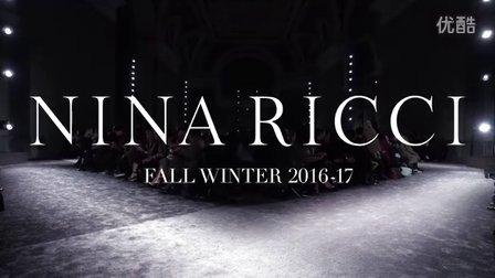 Nina Ricci 2016-17 秋冬高级成衣发布会